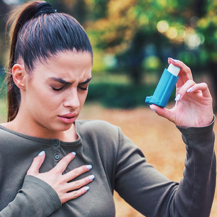 problems of inhaler